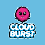 Cloud Burst Logo by AbhaySingh1