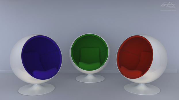 Orb Chairs by gfx-micdi-designs