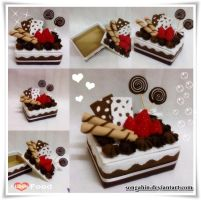 My Chocolate Mocha Cake Box by SongAhIn