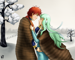 FE SS: ''Come here, Dear. Let me fix your Scarf.'' by Heroine-of-Time-7
