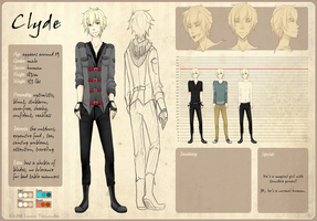 Reference Sheet: Clyde by raru-tan