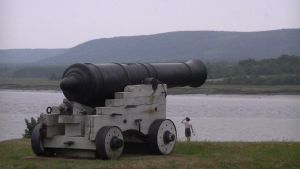 Fort Anne NS shore gun by MysticKnight38