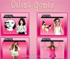 Selena Gomez Folder Icon Pack! by NaraLilia