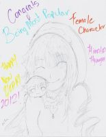 Hinata-HAPPY NEW YEAR AND CONGRATS by NelNel-Chan