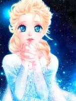 Elsa: Hear my prayers by Yinamon