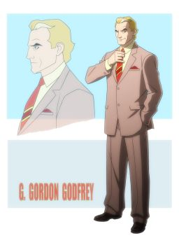 YOUNG JUSTICE: INVASION: G GORDON GODFREY by Jerome-K-Moore
