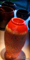 Deflute - Volcanic Vase 2 by kendravixie