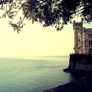 Miramare Castle by anitaxlove