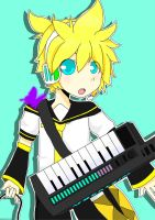 Kagamine Len - Poster by TangolaDude