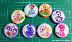 Filly badges!! by amy30535