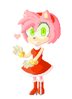 Amy animated pixel by sonikkuraidazu