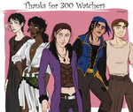 Thanks for 300 watchers!! by Eninaj27