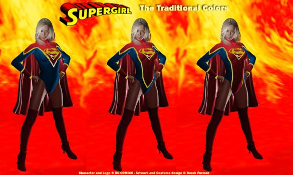 My New SuperGirl Design x 3 by dlfurman
