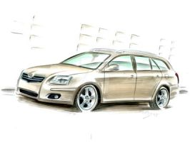 Toyota Avensis by judge-design