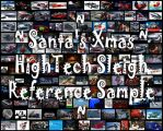 Santa's Sc-Fi Sleigh 'Contest' - Reference Sample by 1DeViLiShDuDe