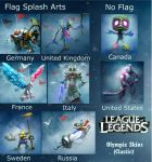 League of Legends Winter Olympic Skins_ Classic by RhennSacara