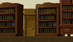 Door at the Library 1 by BrokenHappiness