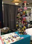 My Art Table for Ai-Kon 2014 by AnimeJanice