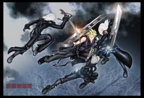 ::Advent Children:: by amano--wILD7