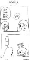 drawing 1 4koma by se-rah