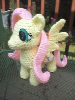 Fluttershy Plushie by Milayou