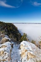 Grand Canyon - Fog and Snow Edition by 4everN3rdy