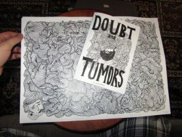 doubt and tumors zine + poster by boobookittyfuck