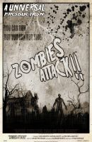Zombies Attack Vintage Teaser by ryansd