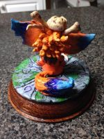 Gnar The Missing Link Figurine (Back) by KillDill