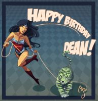 Happy birthday to DEAN!- Commission by Ceshira