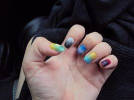 Each Nails is Different by Nandanyx