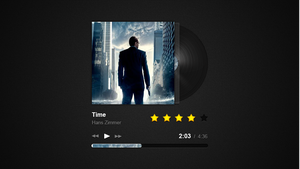 Gorgeous music player by Mc-Cabe