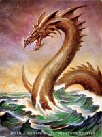 Sea Serpent by PaulAbrams