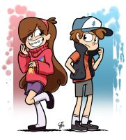 Pines Twins by GlancoJusticar