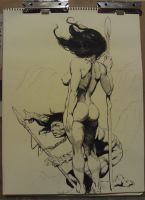 Frazetta by Kid-With-The-Hat