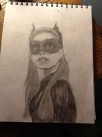 Catwoman TDKR portrait by Allicat1400