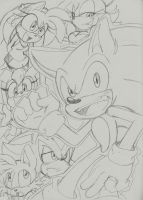 Sonic n Friends by Narcotize-Nagini