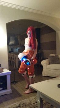Portal 1 Chell cosplay by Dr-Bowman