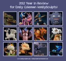 2012 Year in Review by emilySculpts