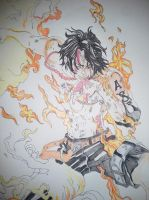 Fire Fist Ace by zmathis0590