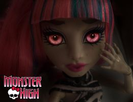Monster High - Rochelle Goyle Eyes by PaulaTnT