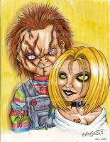 Chucky and Tiffany by Barguest