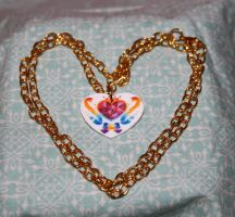 Super Sailor Chibi Moon Locket Necklace by honeyheavenly