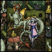 Gravewalker in Wonderland by Sera-Keen