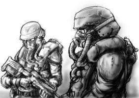 Helghan Soldiers by moefoe