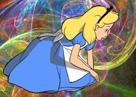"""""""Go Ask Alice"""" Colored by Shirekat"""