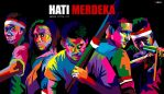 'Hati Merdeka In WPAP by ARaFah
