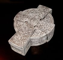 Celtic Cross Jewelry Box by DarkDollArt