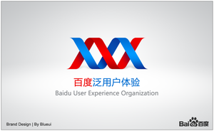 Baidu UX Logo design by blueui