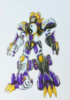 ONIRANGERS part 4: armored dual oni titan by kishiaku